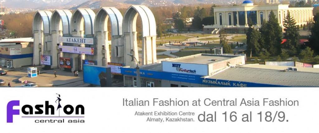 Italian Fashion at Central Asia Fashion dal 16 al 18 Settembre