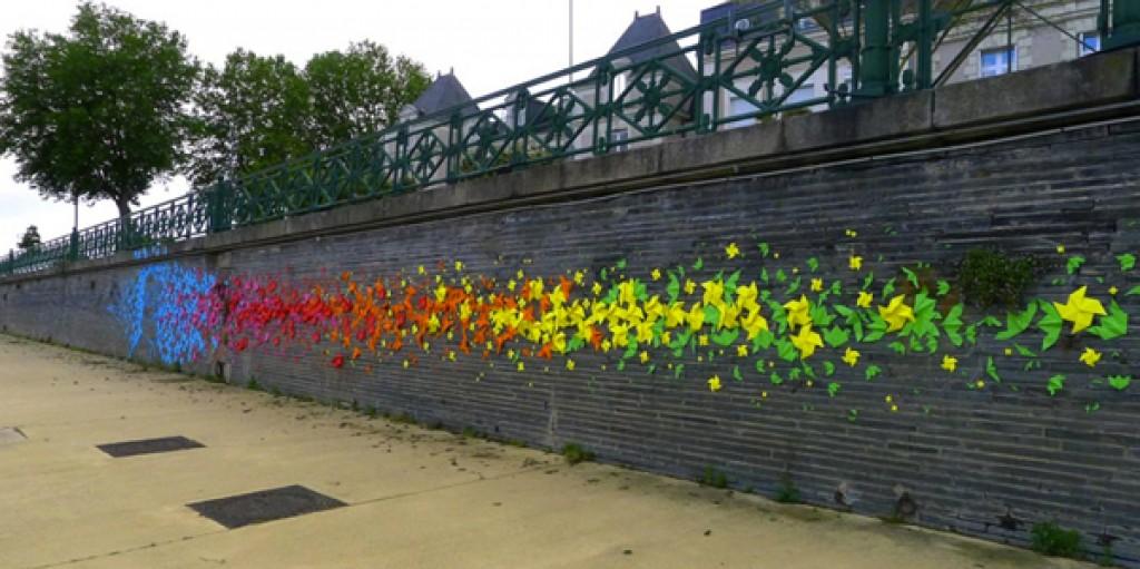 Graffiti di carta